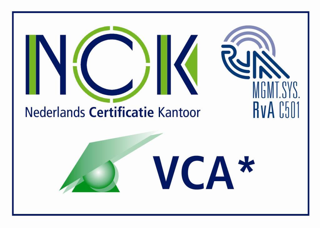 VCA1 4KL Nederlands Certificatie Kantoor (NCK)